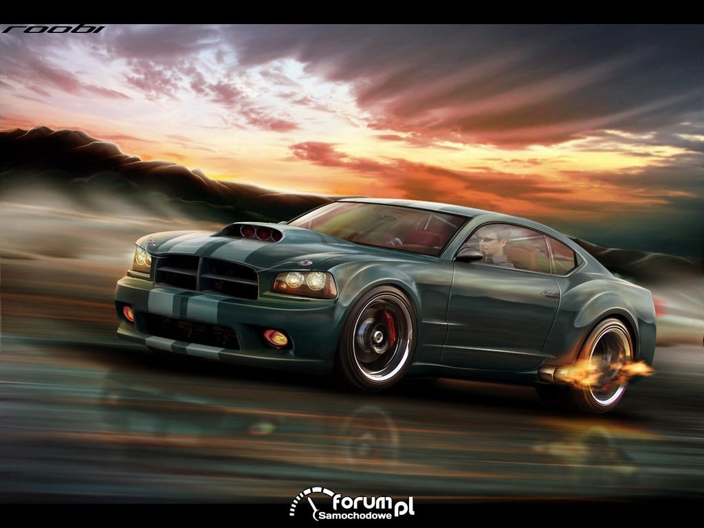 Dodge Charger - by roobi