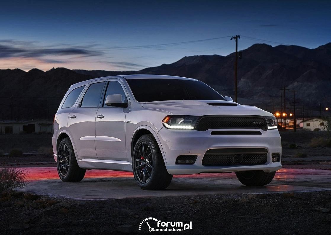 Dodge Durango SRT, 2018