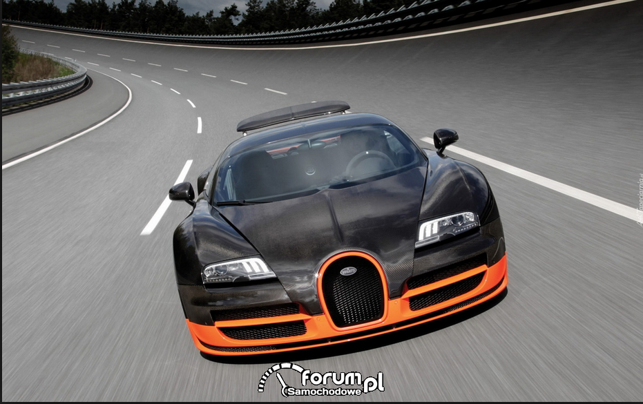 Bugatti Veyron Super Sport- numer 3