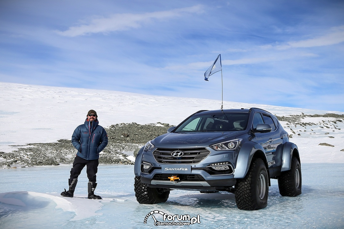Hyundai Santa Fe, Arctic Trucks, przód