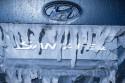Hyundai Santa Fe, lód i logo