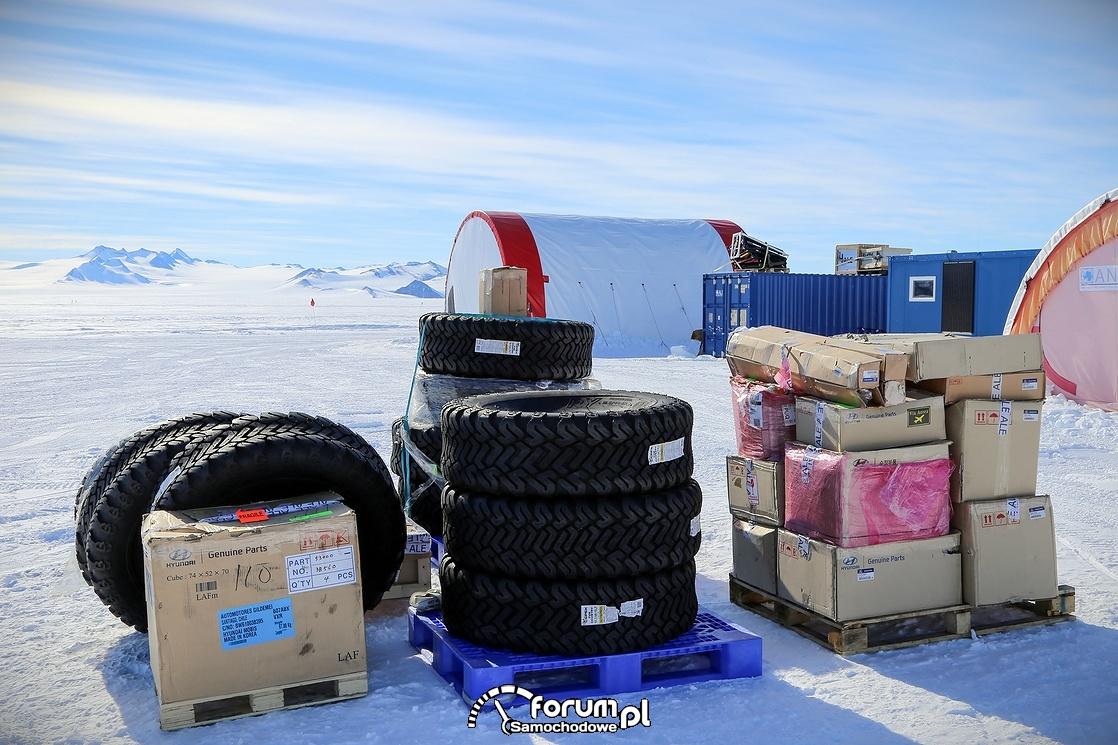 Opony przystosowane do wypraw arktycznych, polarnych