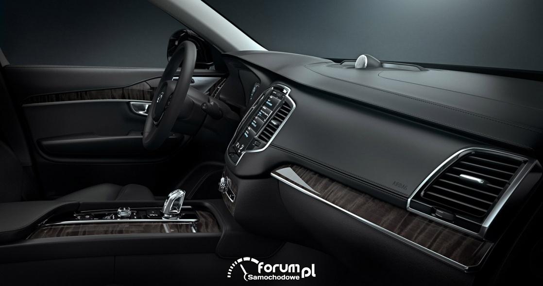 Wnętrze Volvo XC90