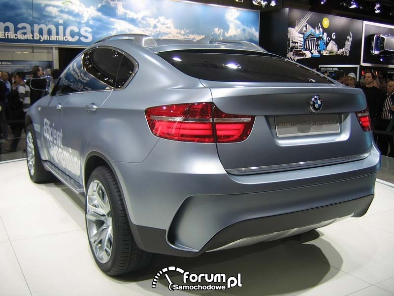 BMW Concept X6 ActiveHybrid - EMS Brussels