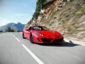 Ferrari 458 Spider, górska kręta droga