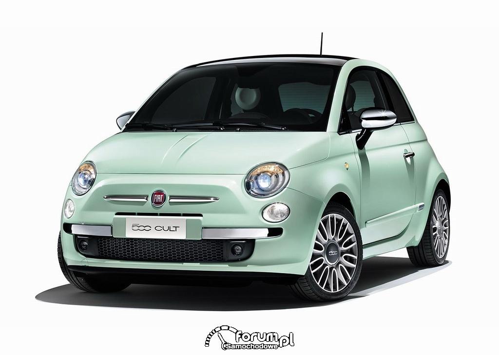 Fiat 500 Cult, przód
