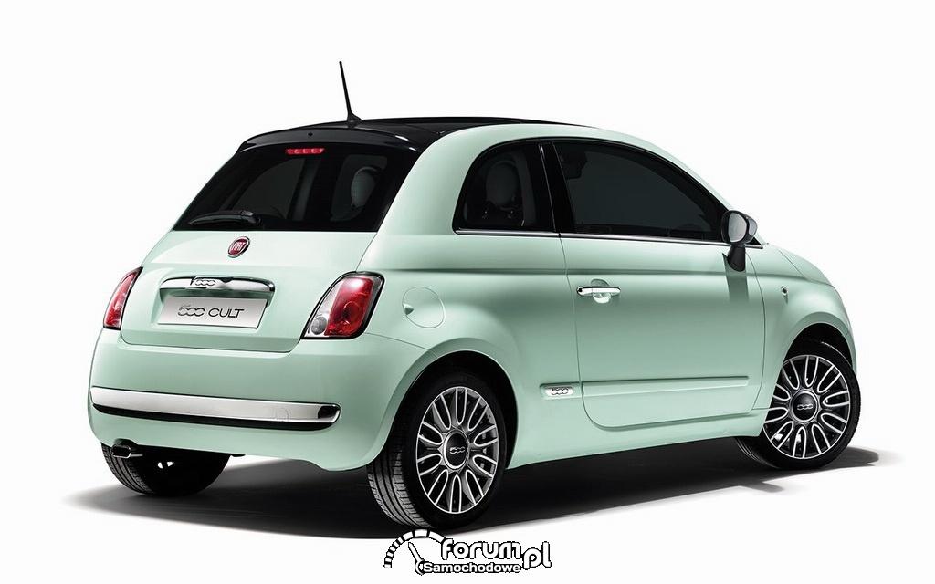 Fiat 500 Cult, tył