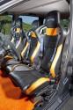 Fiat Multipla GT, sportowe siedzenia DTS