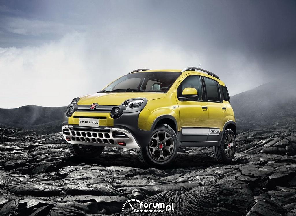 Fiat Panda Cross, przód