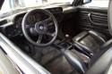 BMW E21 323i, wnętrze
