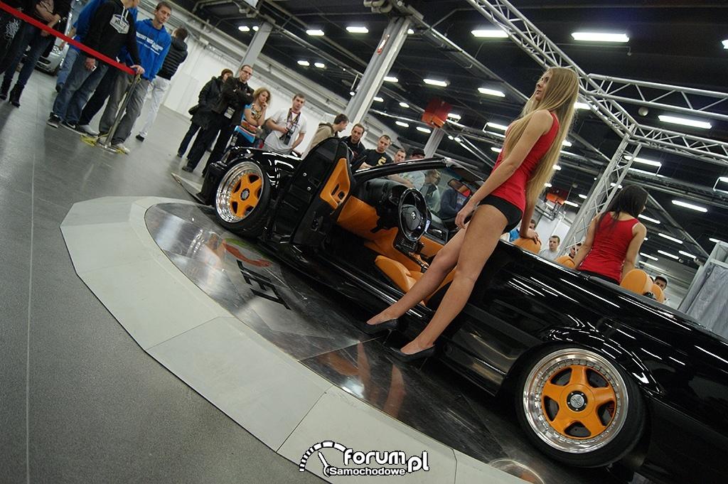 BMW E36 Cabrio, dziewczyny, 4