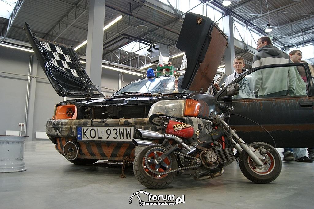 Ford Fiesta MK3, mini motor, 2