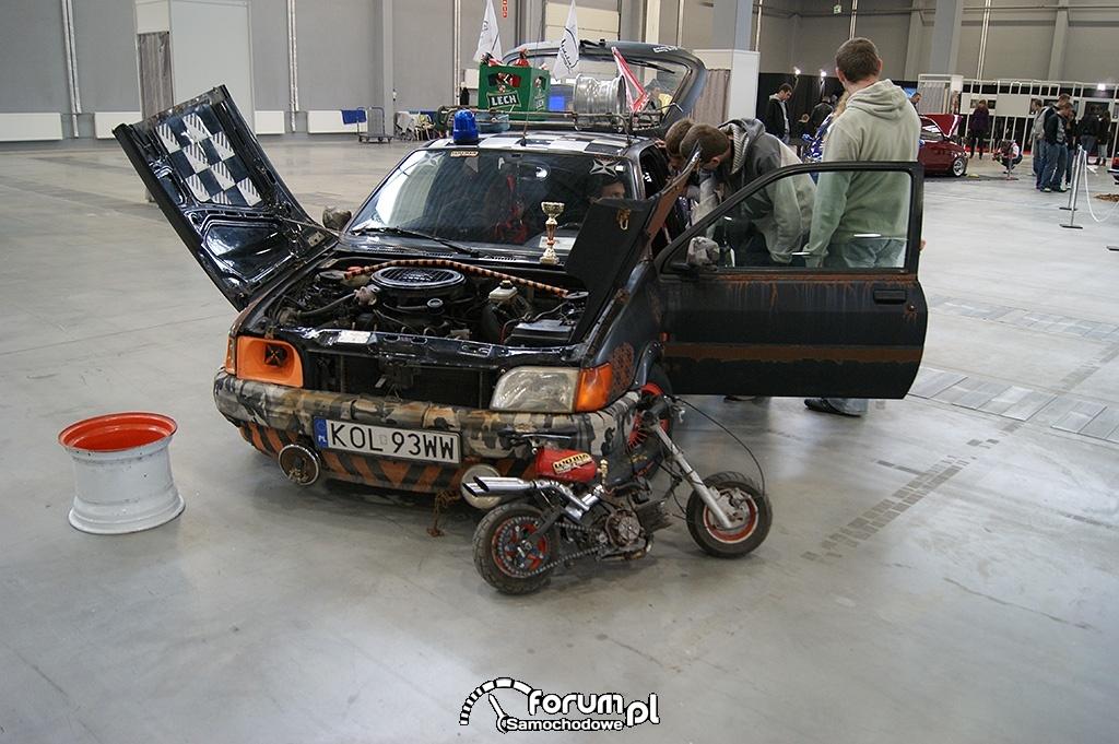 Ford Fiesta MK3, mini motor