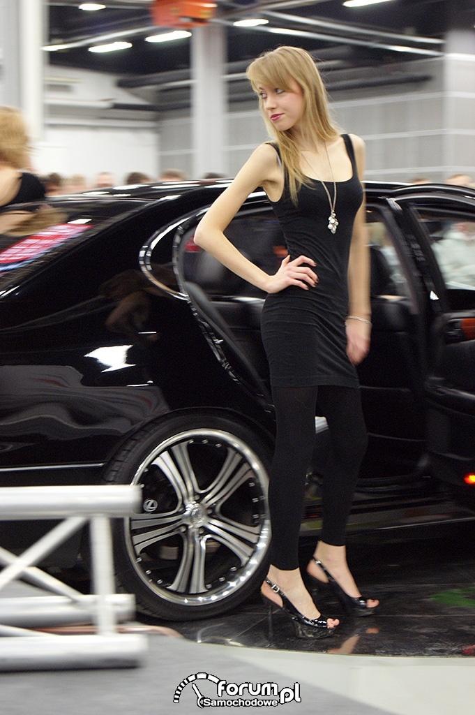Lexus GS430, dziewczyna