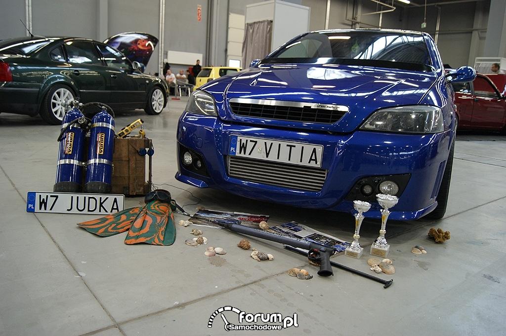 Opel Astra Coupe Irmscher, przód