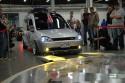 Opel Combo, wjazd na obrotnicę