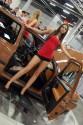 Volkswagen Golf III, brązowy, dziewczyny, 3