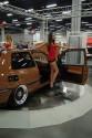 Volkswagen Golf III, brązowy, dziewczyny, 5