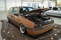 Volkswagen Golf III, brązowy, przód