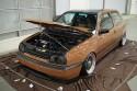 Volkswagen Golf III, brązowy