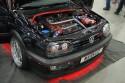 Volkswagen Golf III GTI, czerwone podświetlenie spodu