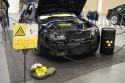 Volkswagen Golf III, przód, strefa zagrożenia wybuchem