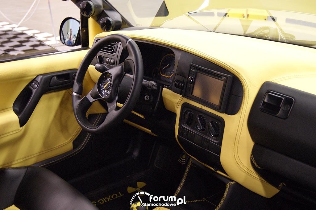 Volkswagen Golf III, wnętrze