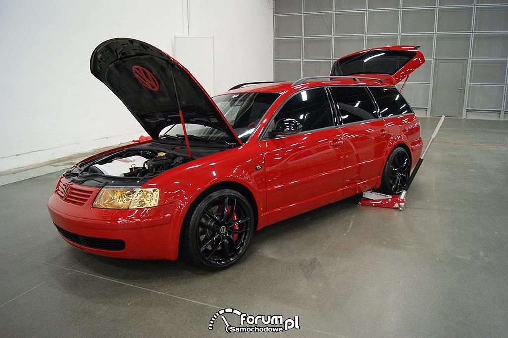 Volkswagen Passat, podnośnik