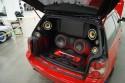 Volkswagen Passat, zabudowa bagażnika CarAudio, 2