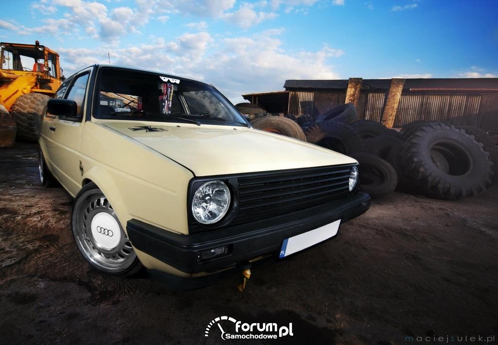 Paweł Mądry - VW Golf II, 2