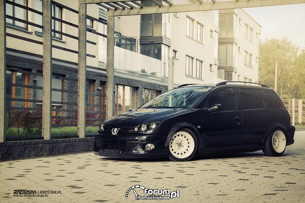 Radek Domański - Peugeot 206 SW