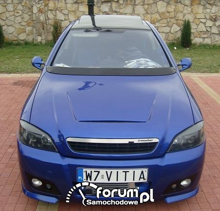 Wiktor Pawluk - Opel Astra Coupe