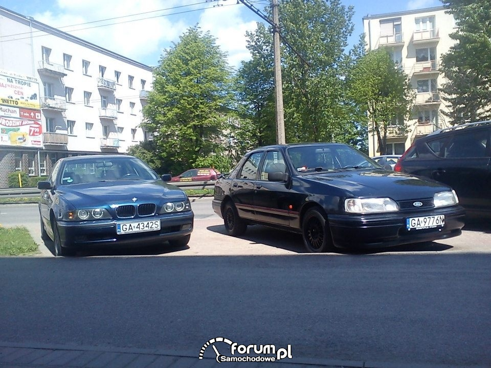 Ford Sierra & E39.