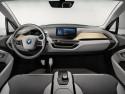 BMW i3 Concept Coupe, wnętrze, deska rozdzielcza