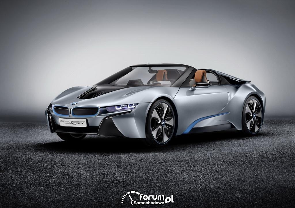 BMW i8 Concept Spyder, przód