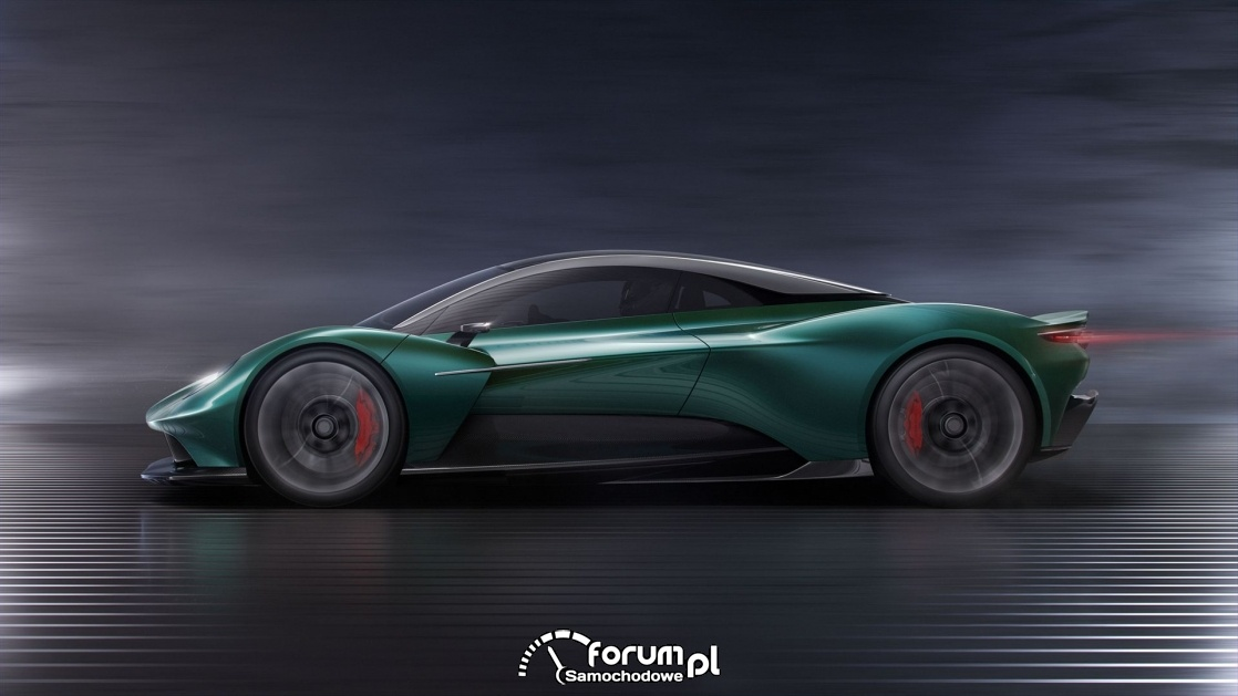 Aston Martin Vanquish Vision, bok