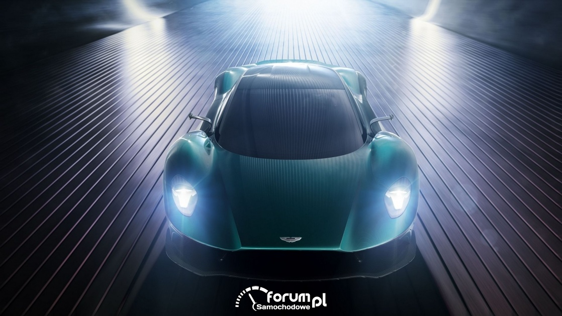 Aston Martin Vanquish Vision, przód