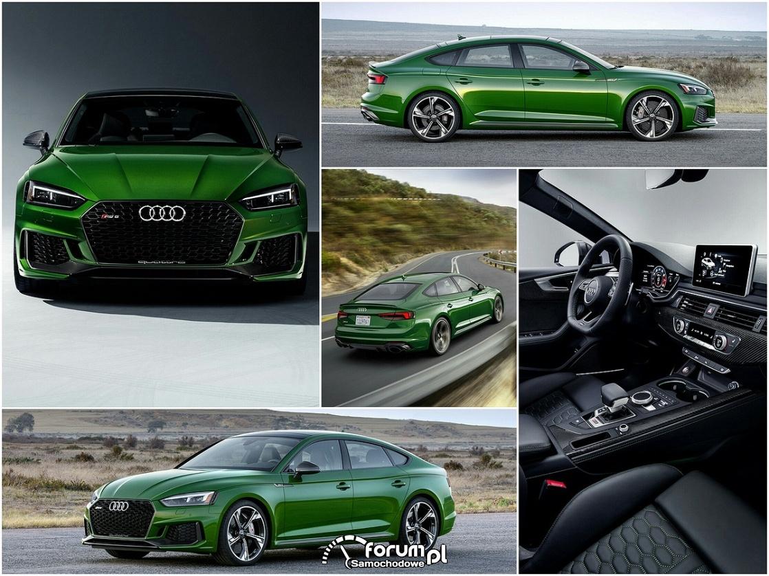 Audi RS 5 Sportback 2018 - nadzwyczajna stylistyka i maksymalne osiągi
