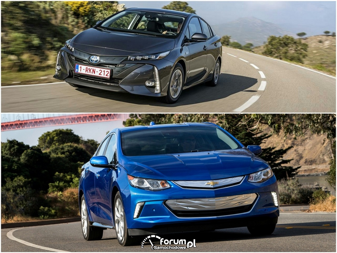 Chevrolet Volt vs Toyota Prius