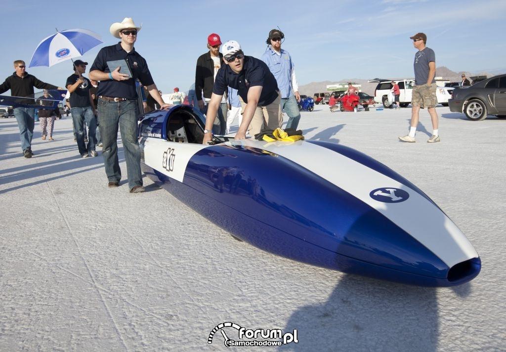 Electric Blue - samochód z silnikiem elektrycznym : zdjęcie 1