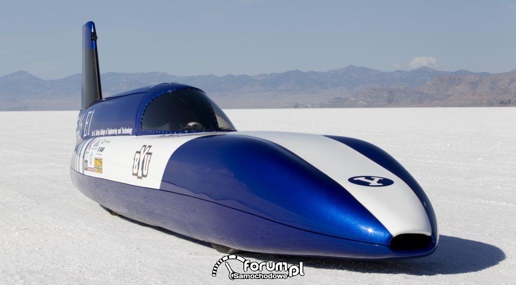 Electric Blue - samochód z silnikiem elektrycznym : zdjęcie 3