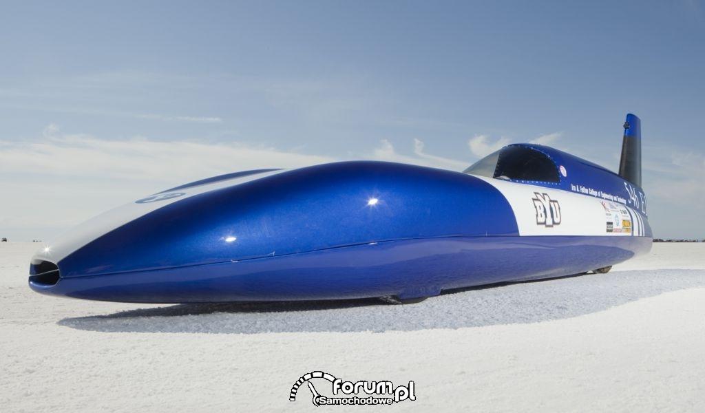 Electric Blue - samochód z silnikiem elektrycznym : zdjęcie 4
