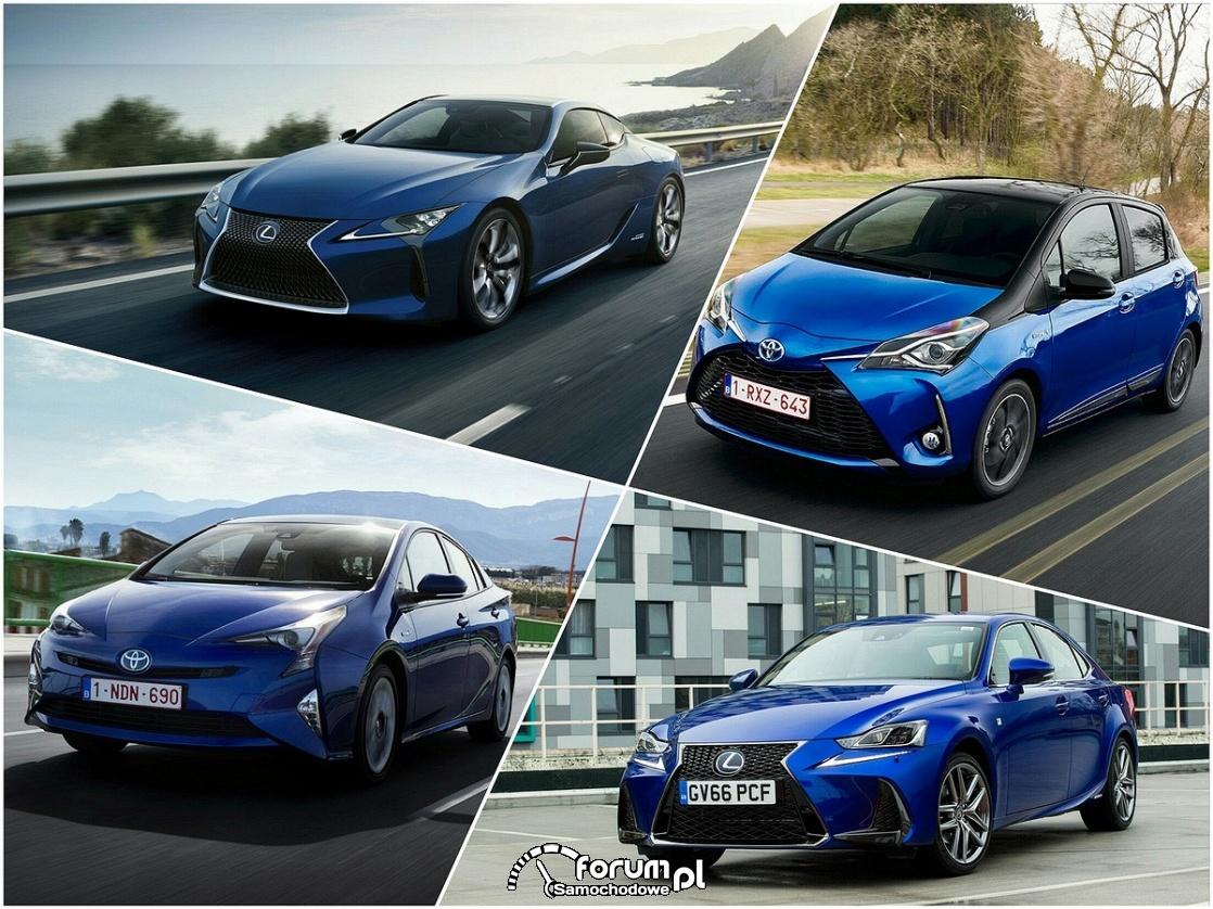 Hybrydy Lexus, Toyota