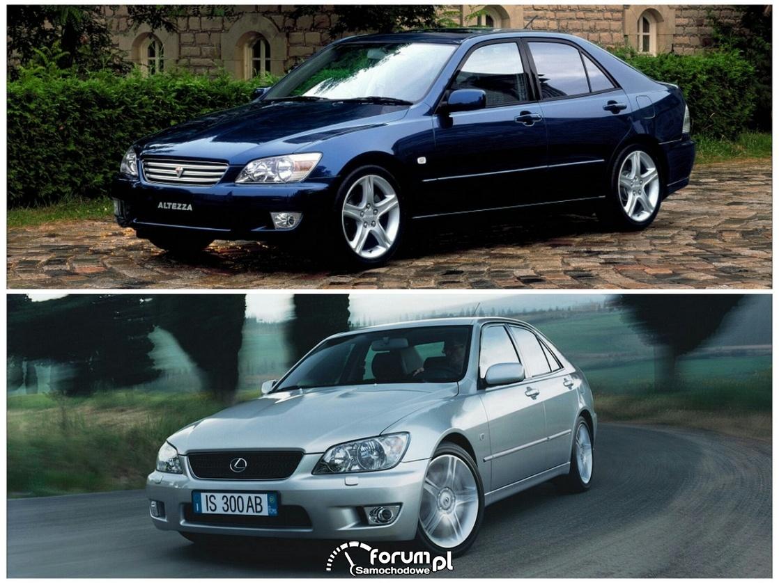 Lexus IS - Toyota Altezza