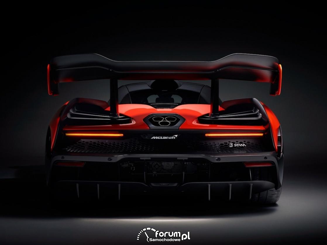 McLaren Senna - wydech o sześciokątnym przekroju