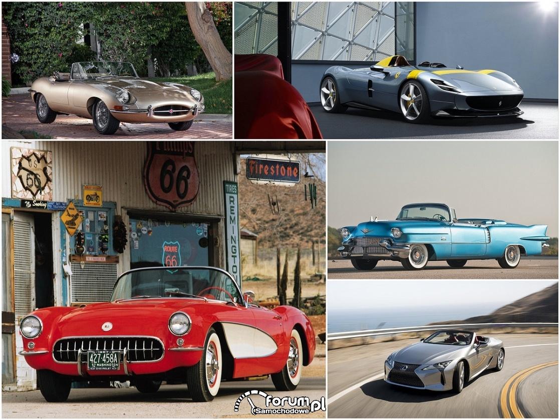 Najpiękniejsze i najbardziej stylowe kabriolety w historii