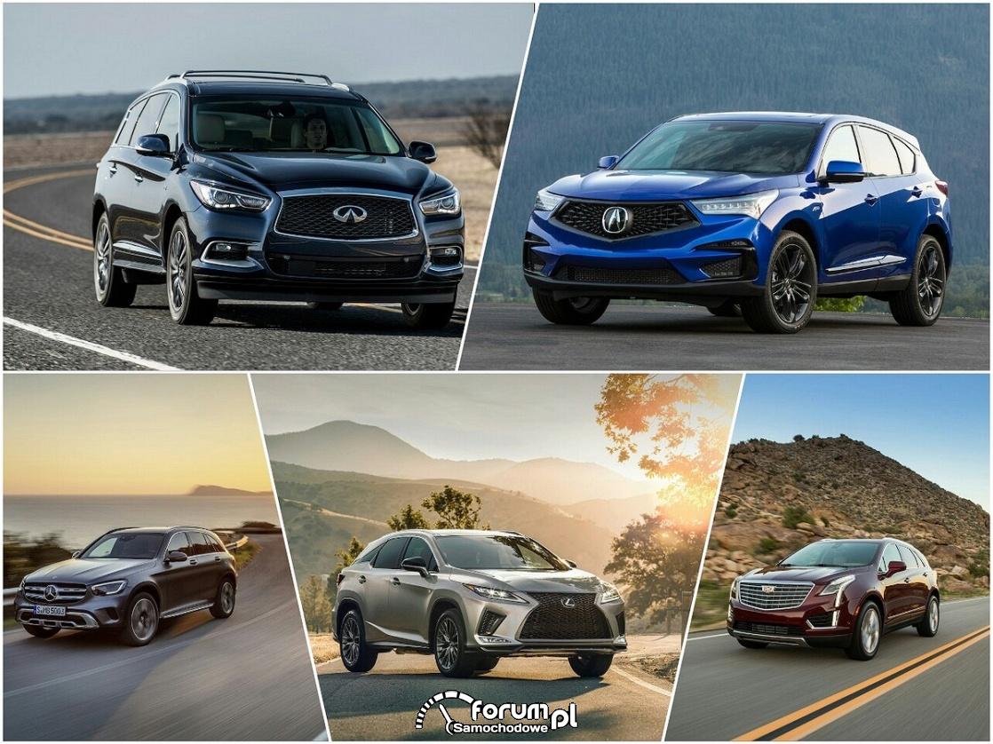 Najpopularniejsze luksusowe SUV-y w USA