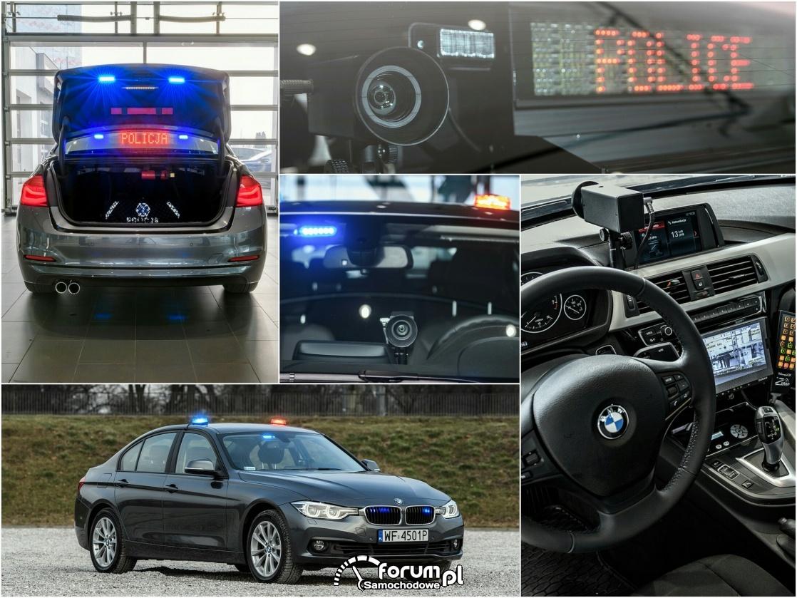 Nieoznakowane radiowozy BMW 330i xDrive