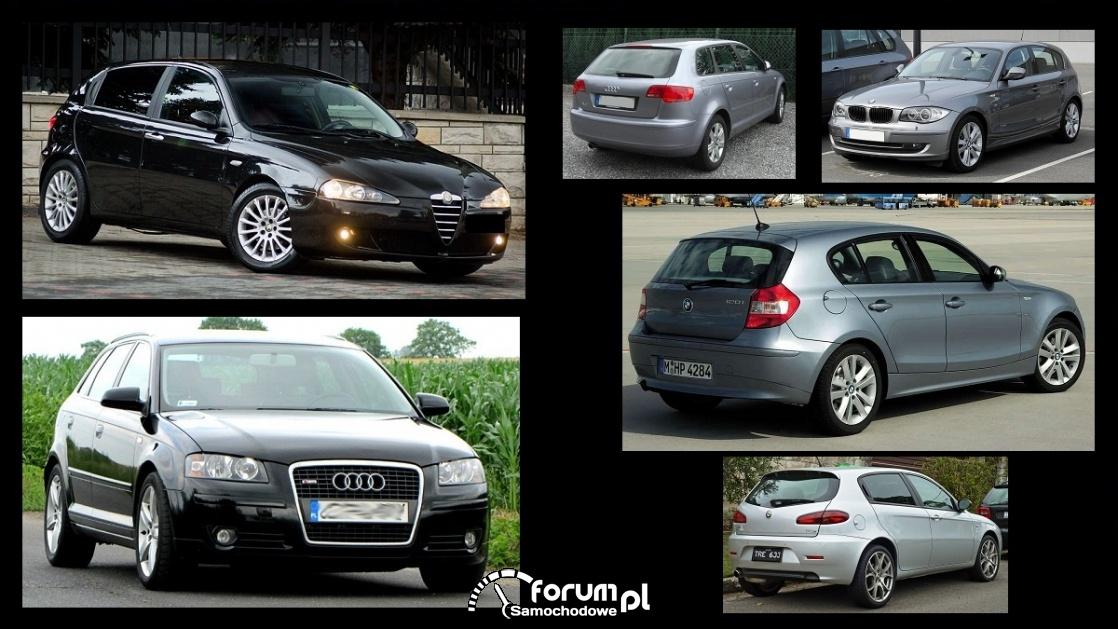 Porównanie: Alfa Romeo 147, Audi A3 8P, BMW 1 e87