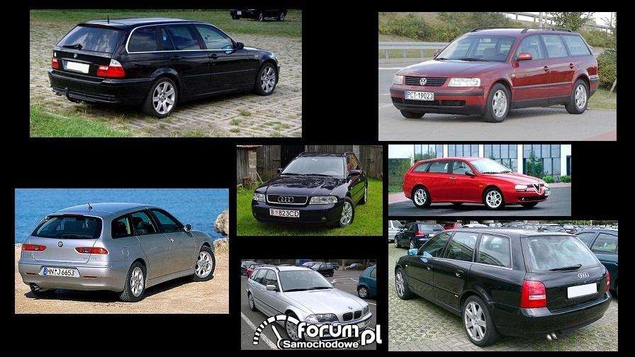 Porównanie: Alfa Romeo 156, Audi A4 B5, BMW 3 e46, VW Passat B5